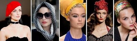 Женские шелковые платки