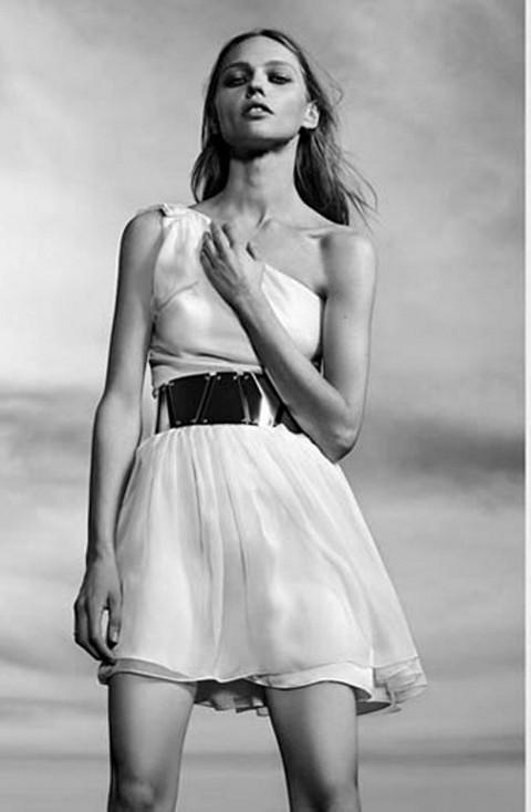 Платье‒сарафаны с коллекции Saint Laurent / Весна-лето 2014-2015