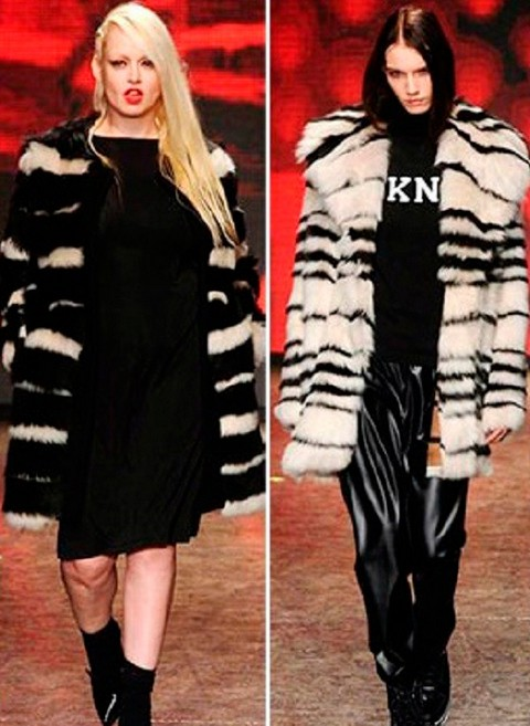 DKNY / Коллекция меховых изделий 2014-2015