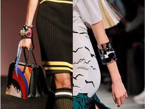 Весна-лето 2014-2015, неделя моды в Милане, 1 – Prada, 2 – Missoni