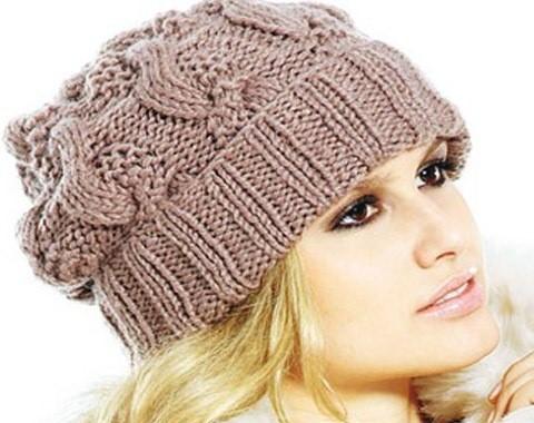 Для вязания женской шапочки