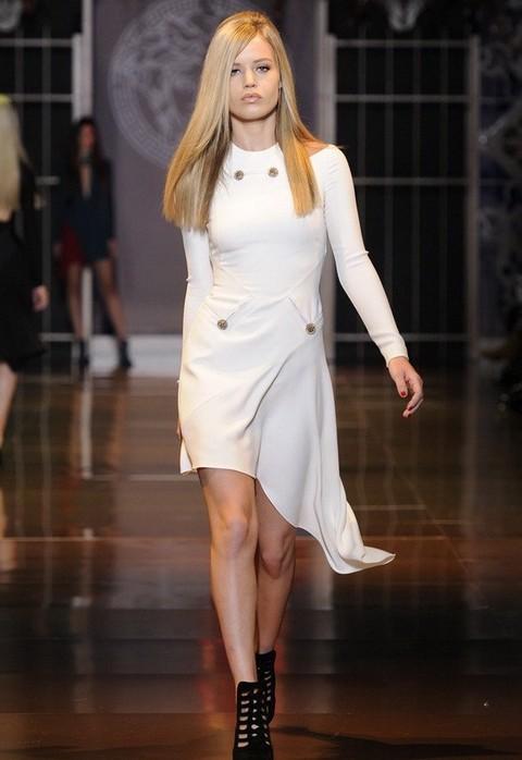 Неделя моды в Милане, осень-зима 2014-2015, Versace, Донателла Версаче