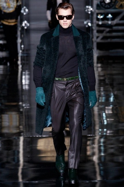 Menswear в Милане, осень-зима 2014-2015, Versace